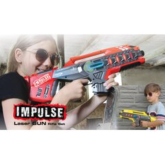 Impulse Laser Gun Rifle Set gelb/rot