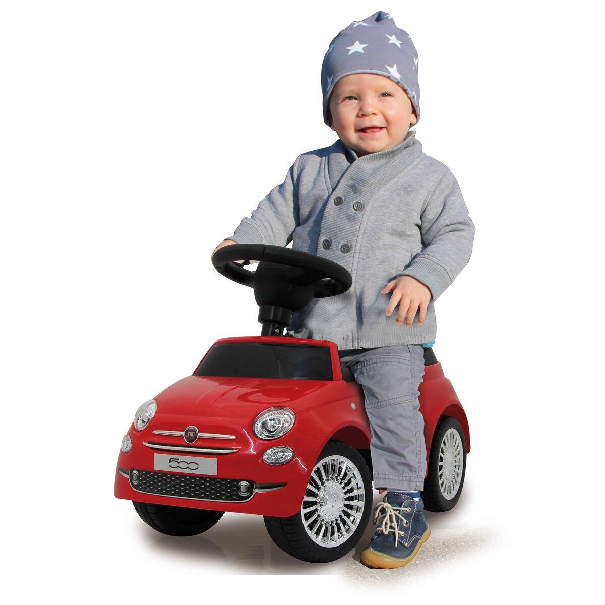 Jamara Push Car Fiat 500 červený