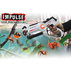 Impulse Laser Gun Bug Hunt Set weiss/orange
