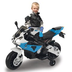 Ride-on Motorrad BMW S1000RR blau 12V