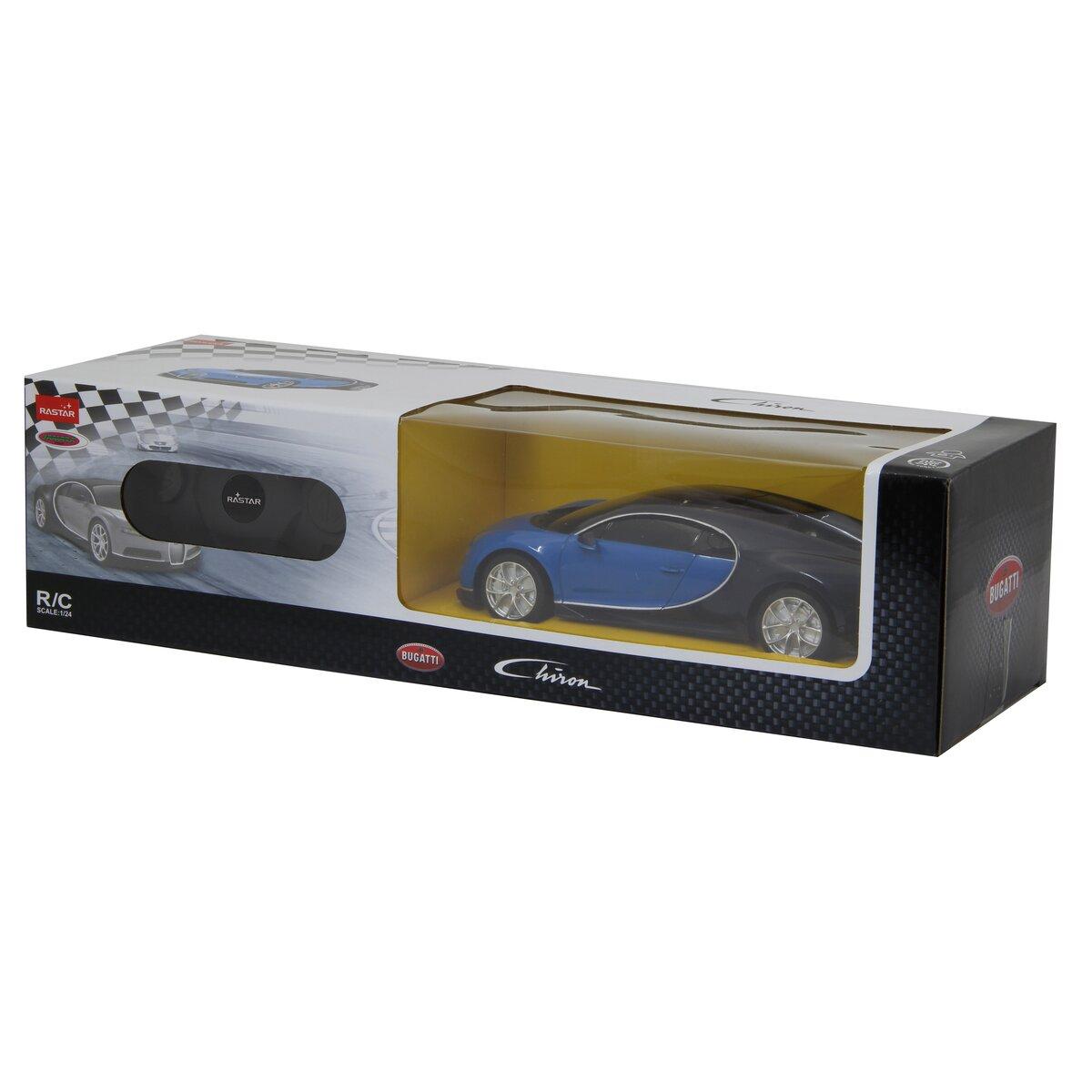 Jamara Bugatti Chiron 1:24 blue 40MHz
