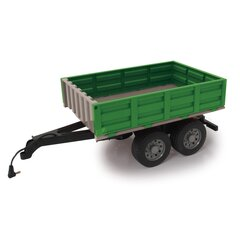Tipper Trailer green for RC-Tractor 1:16