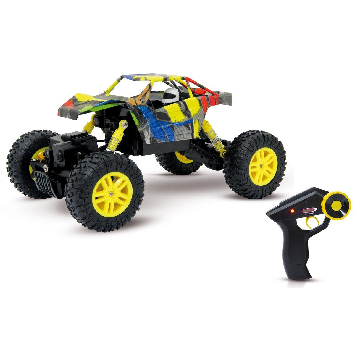 Jamara Hillriser 1:18 Crawler 4WD 2,4G žlutý
