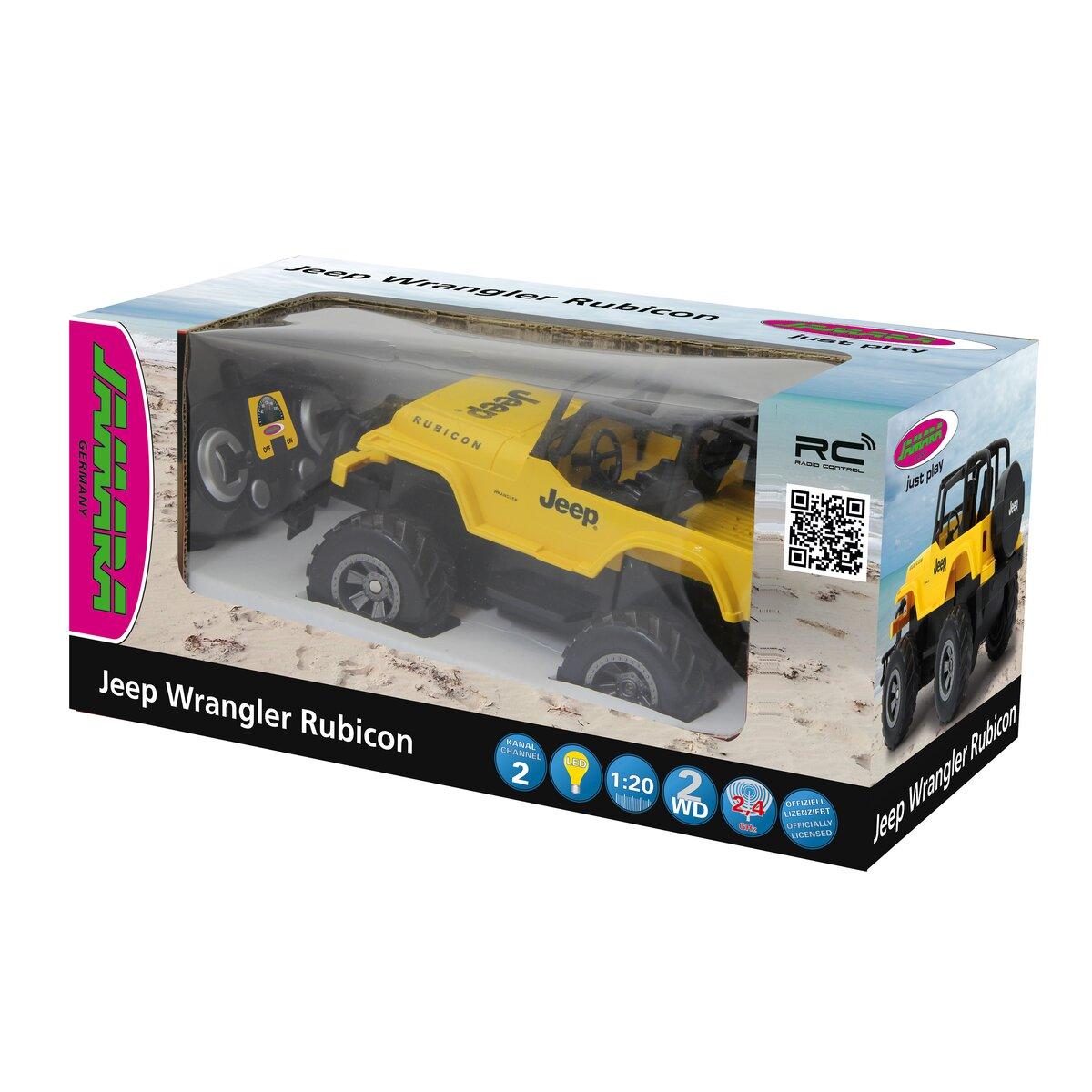 Jamara Jeep Wrangler Rubicon 1:18 žlutý 2,4G