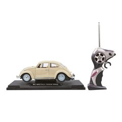 VW Beatle RC Diecast 1:18 creme white 27MHz