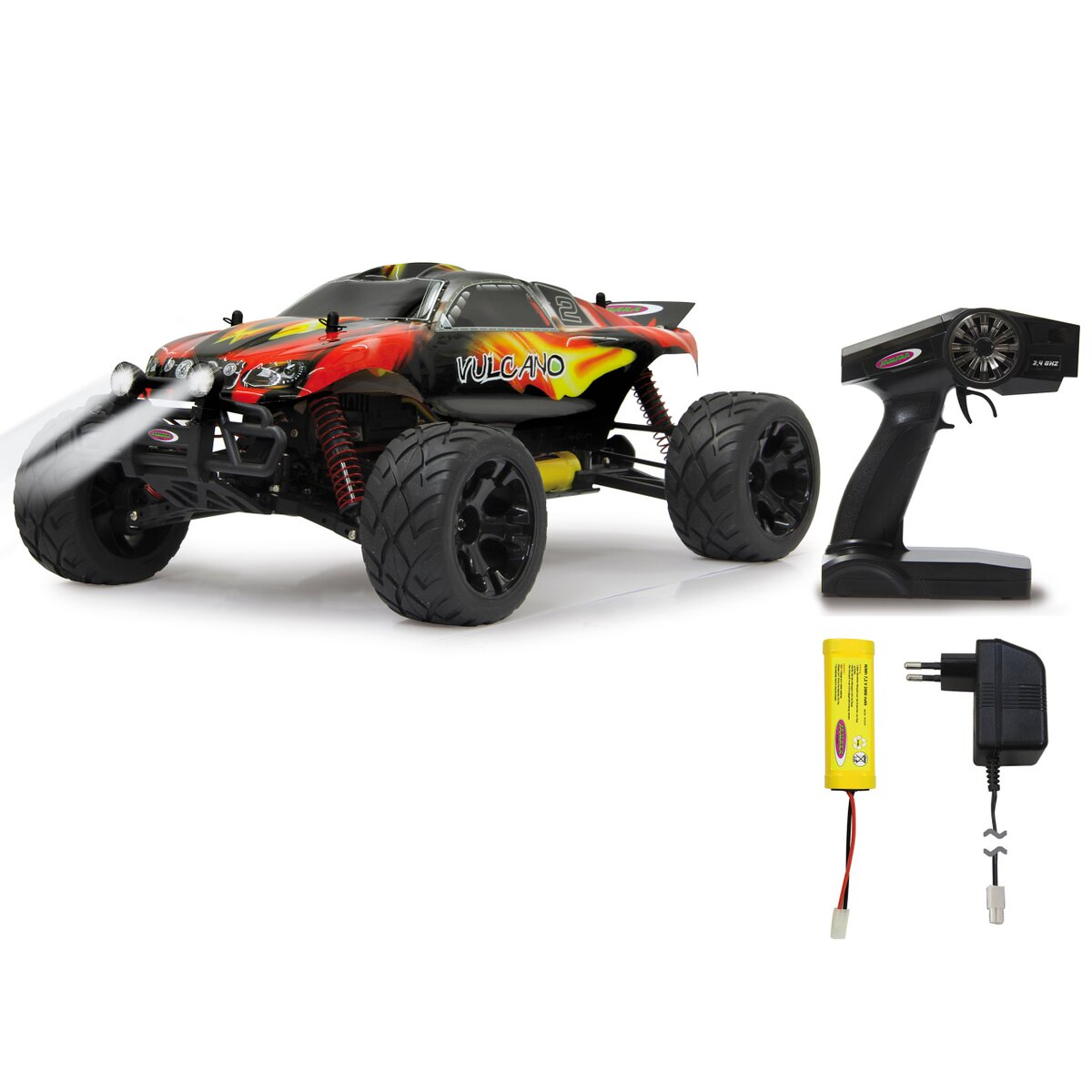 Jamara Vulcano Monstertruck 1:10 4WD NiMh 2,4G LED