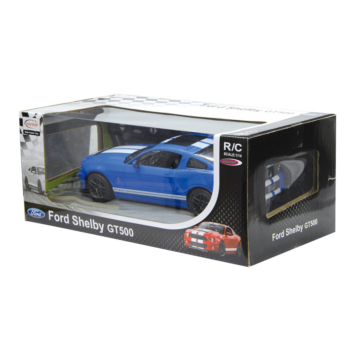 Jamara Ford Shelby GT500 1:14 modrý 27Mhz